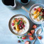 Budino di semi e frutta, senza zucchero aggiunto