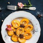 Crostata di pesche e frutta oleosa senza cottura