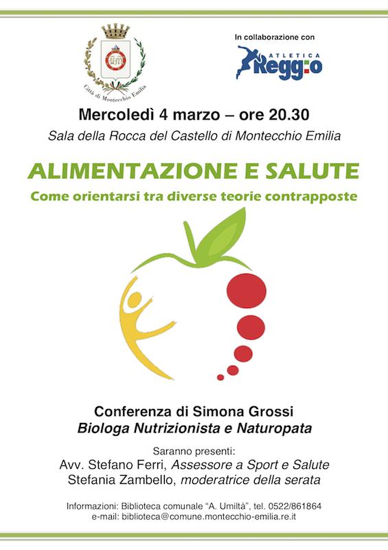 Alimentazione e salute - Conferenza