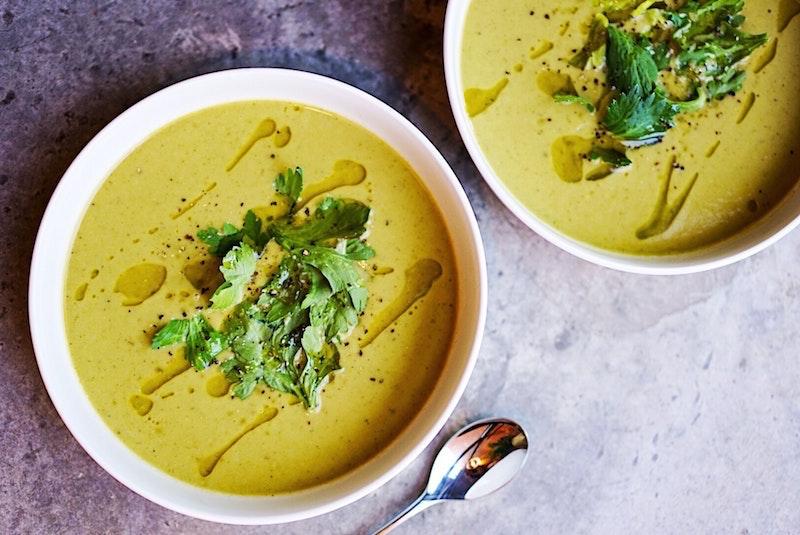 Zuppa dal sapore e profumo orientali