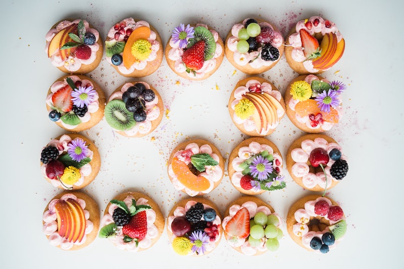 Torta di frutta fresca, con e senza cottura